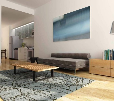 37 wall street living room